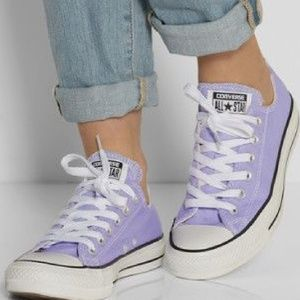 Converse All Stars Pastel Purple Shoe